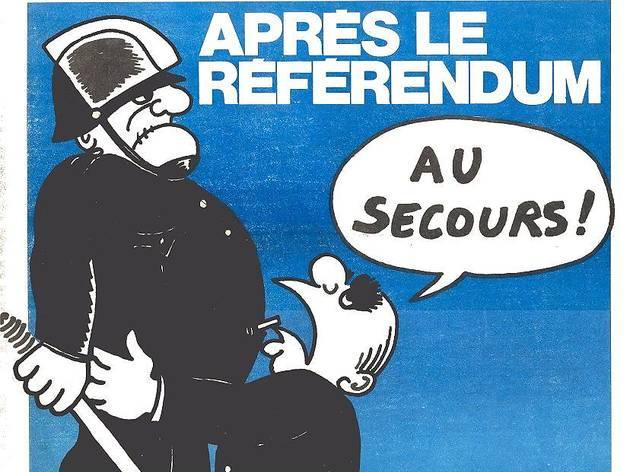 (Charlie Hebdo n° 76, 1er mai 1972)