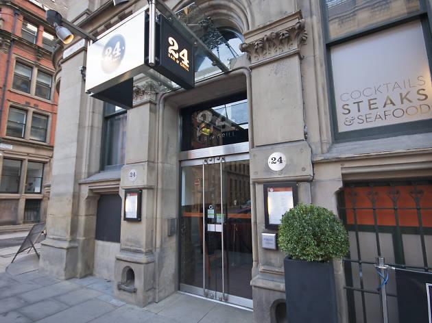 24 Bar & Grill, Restaurants, Manchester