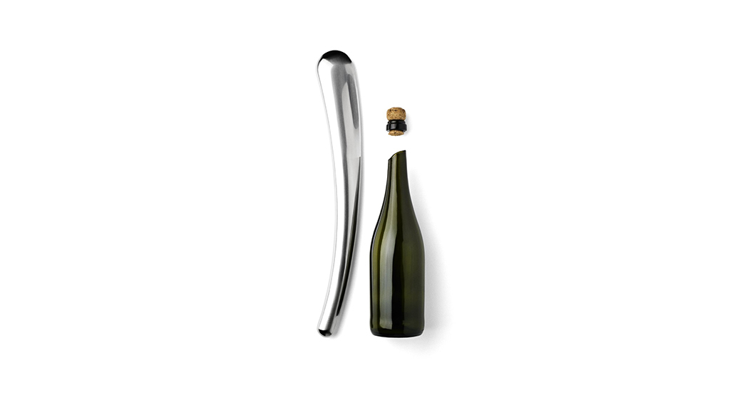 Menu Champagne sabre, $150, at amazon.com