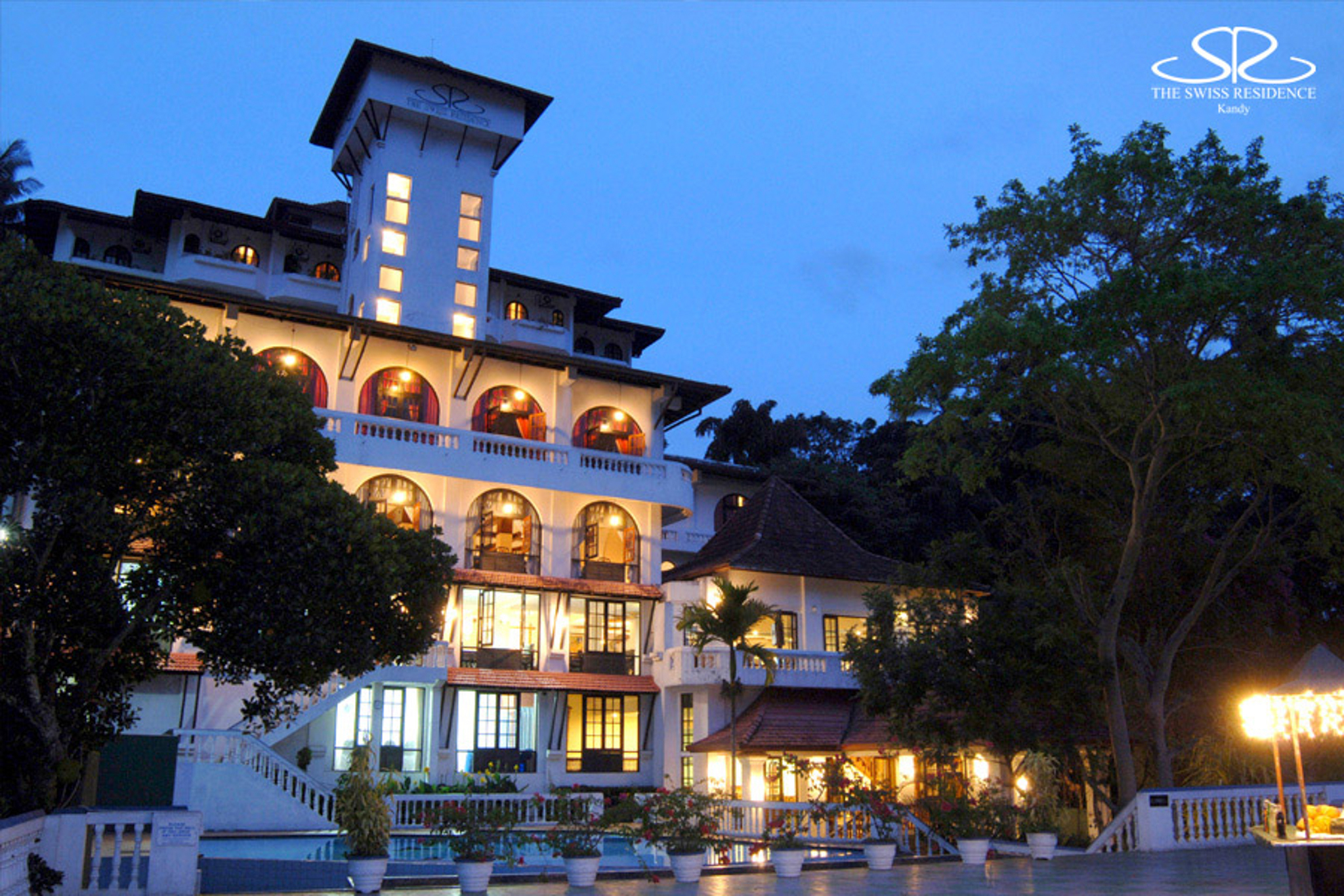 The Swiss Residence is a hotel in Kandy