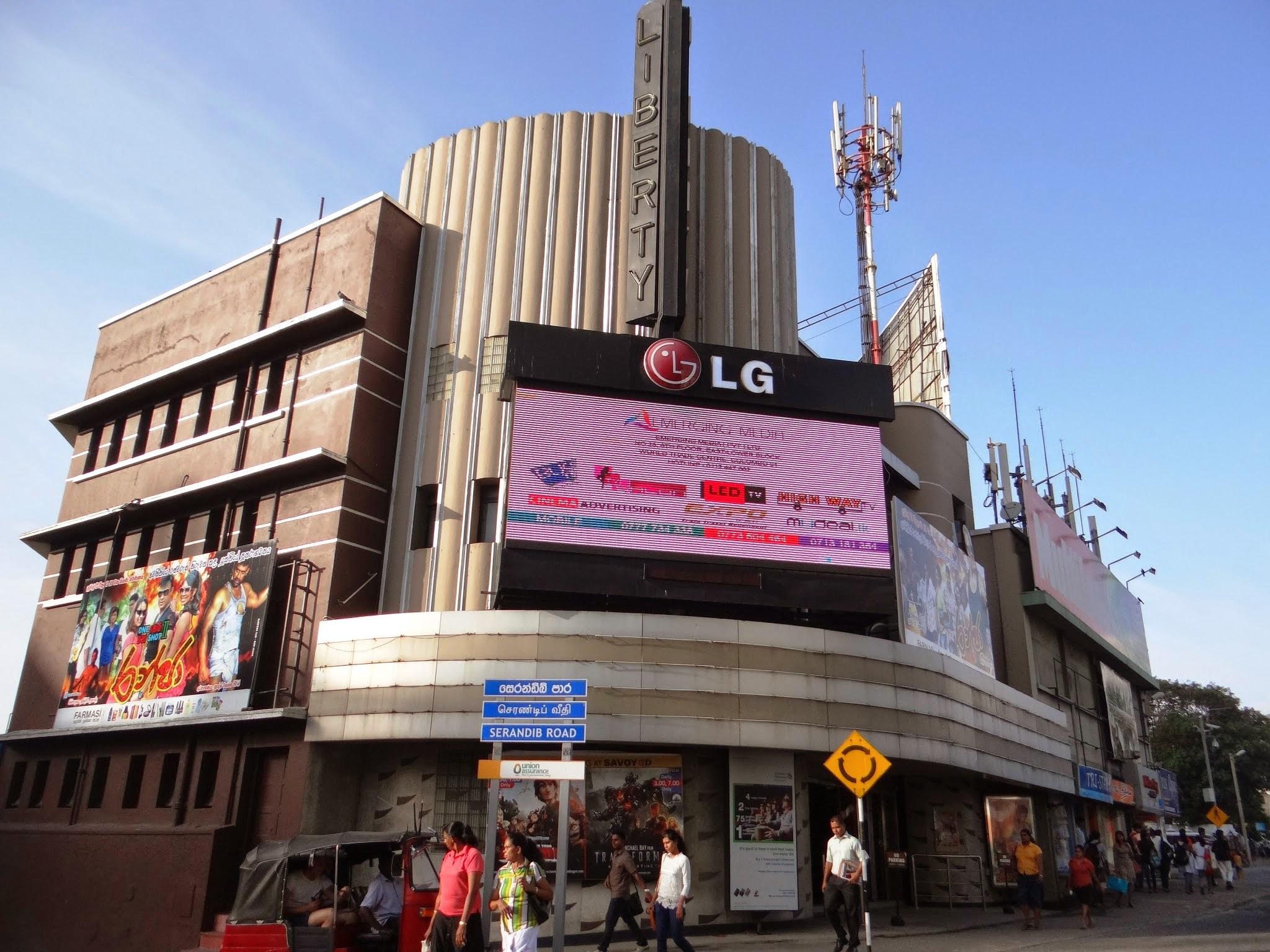 Liberty Cinema is a cinema in Colombo