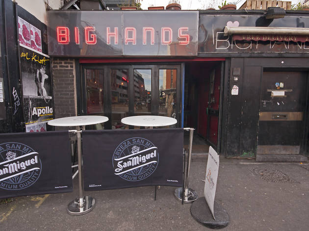 Big Hands, Nightlife, Manchester