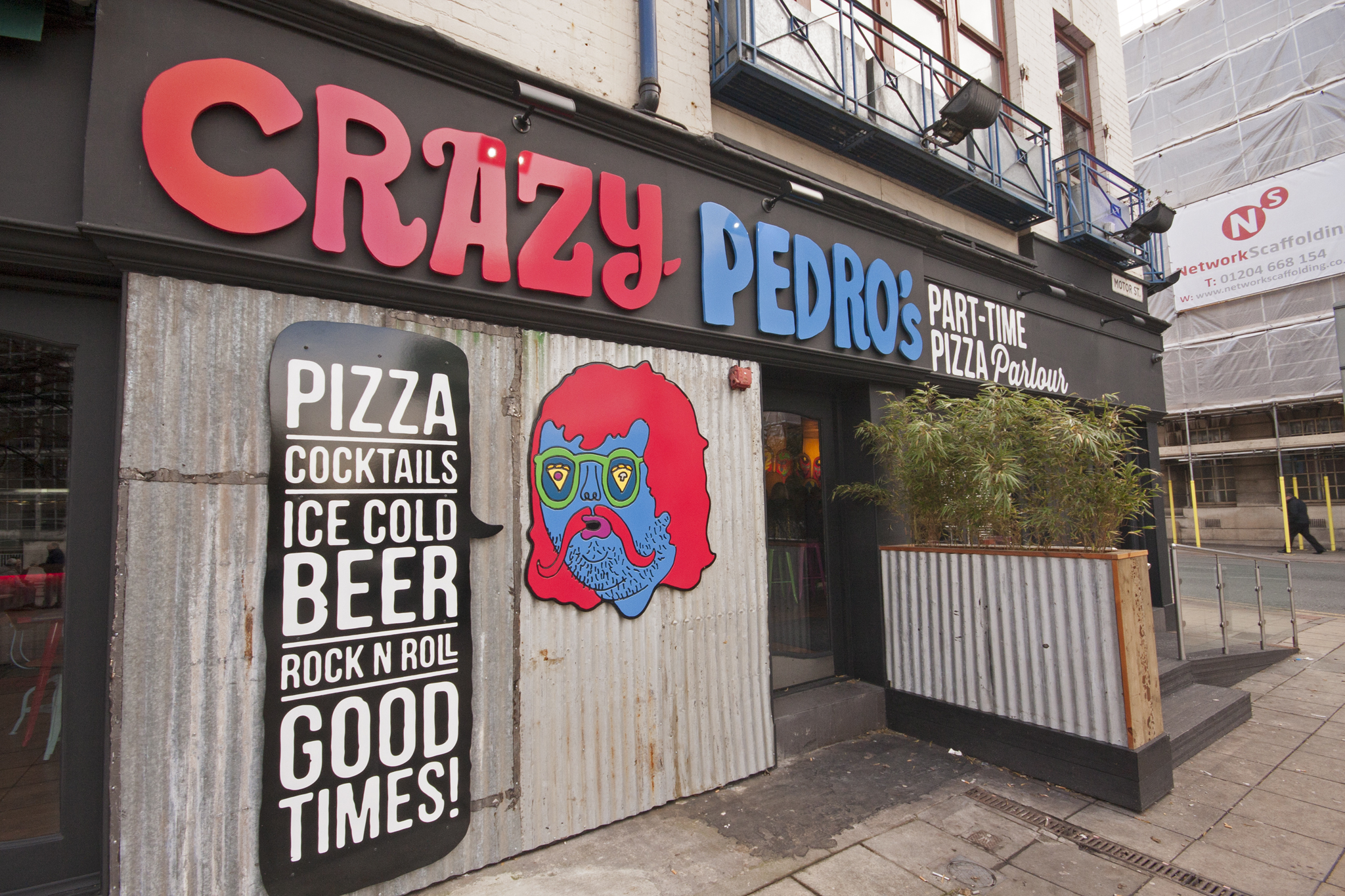 Crazy Pedro's Part-Time Pizza Parlour, Restaurants, Manchester