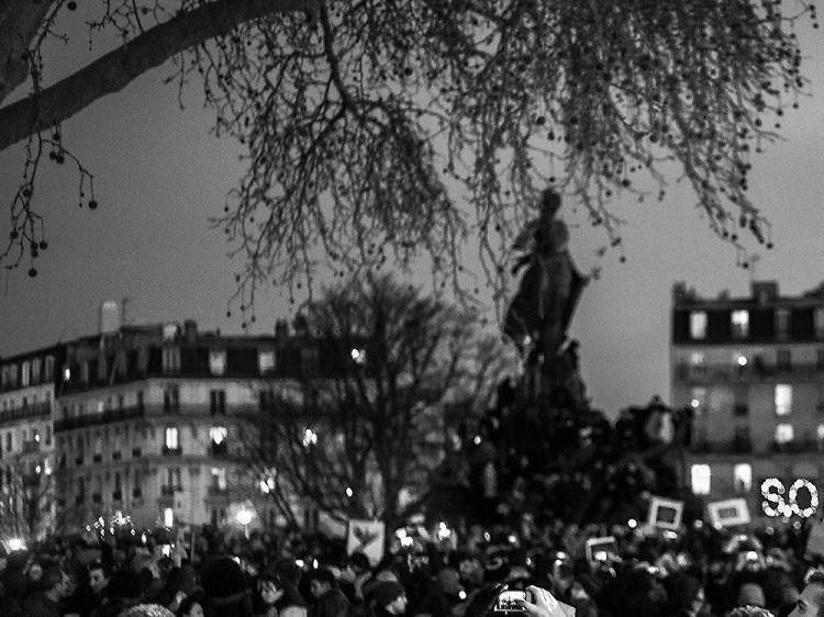 Les Parisiens sont Charlie