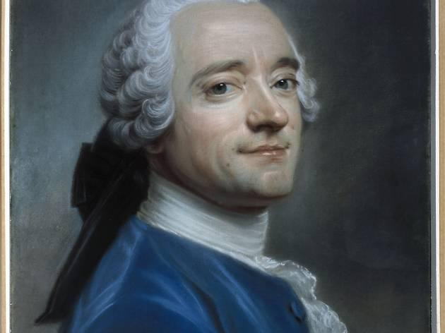 (Maurice Quentin de La Tour, 'Autoportrait au jabot de dentelle', c. 1750 / © Musée Cognacq-Jay / Roger-Viollet )