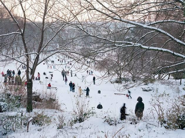(Louise Bossut, 'Paysage bruxellois sous la neige' / © Louise Bossut )