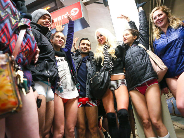 2015 No Pants Subway Ride