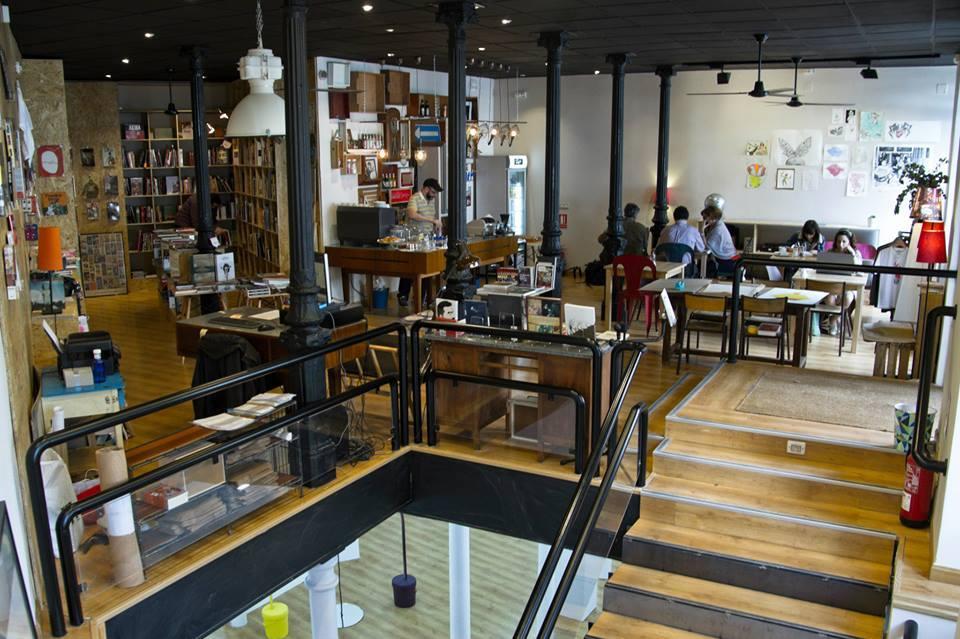 Swinton & Grant: libros + galería de arte + café