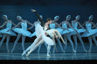 Xander Parish of the Mariinsky Ballet in Swan Lake