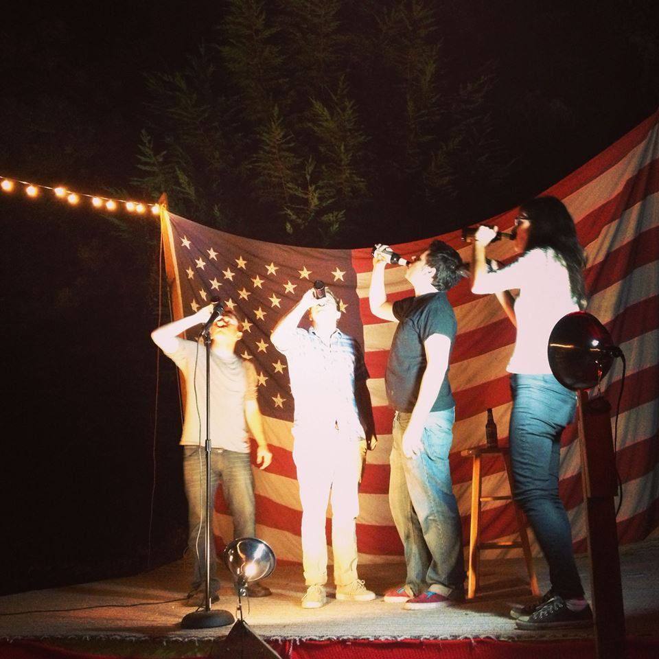 Brew HaHa is more than a backyard comedy show. It's a patriotic celebration.