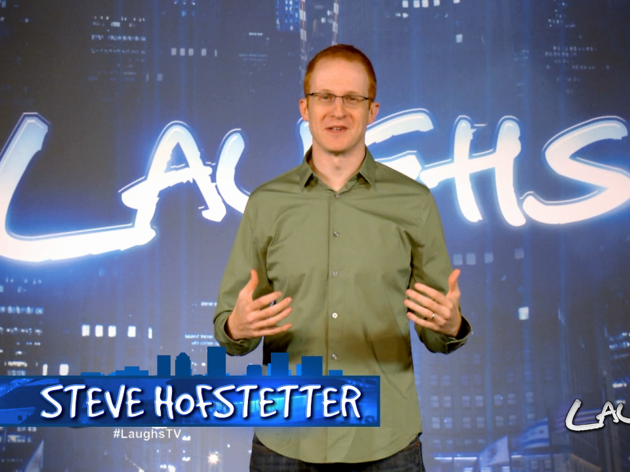 """Steve Hofstetter is the host and executive producer of """"Laughs"""", airing on FOX stations."""