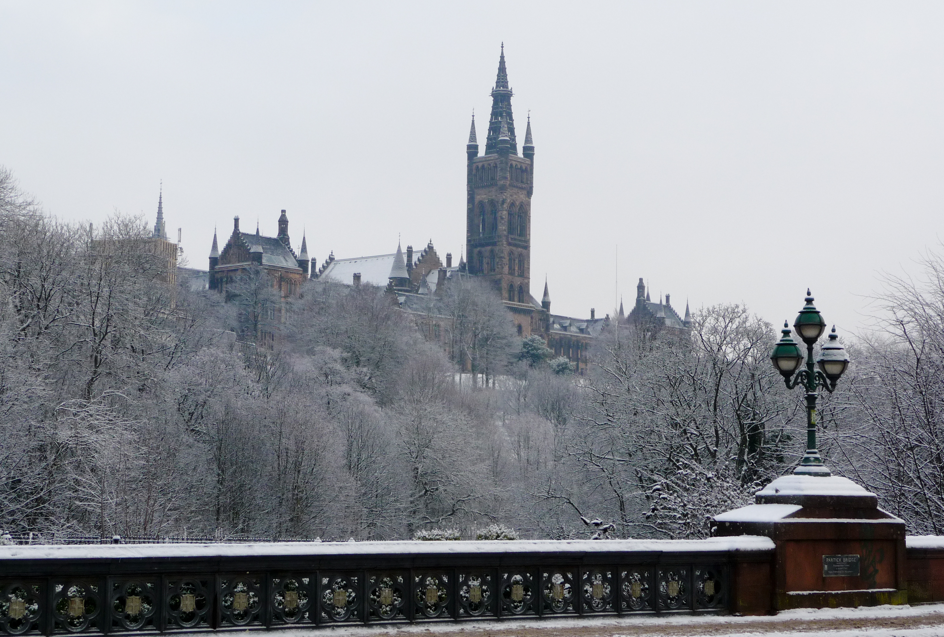 38 gorgeous pictures of Glasgow in the snow