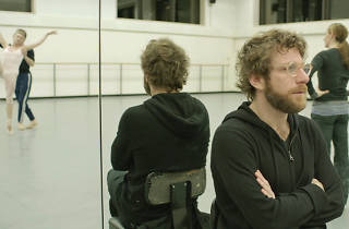 Dustin Yellin collaborates with New York City Ballet