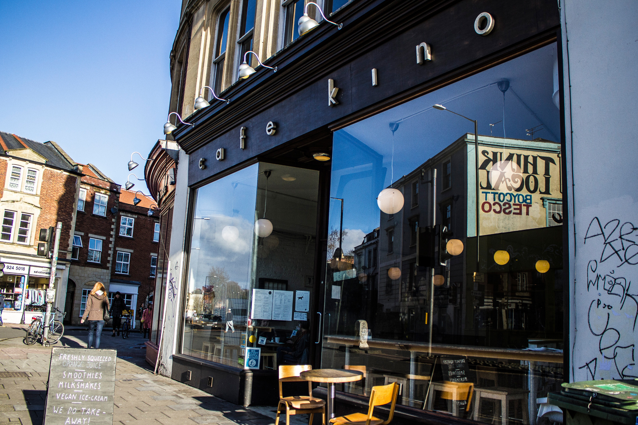 Cafe Kino, Stokes Croft, Bristol