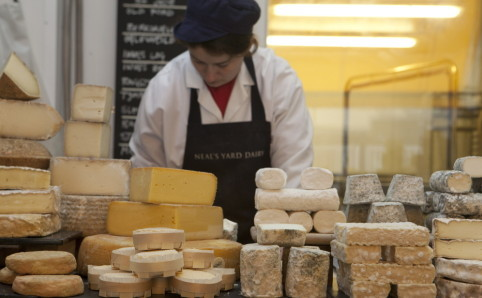 Neal's Yard Dairy, Kappacasein, Mons Fromager, Aubert & Mascoli, South East Fruits