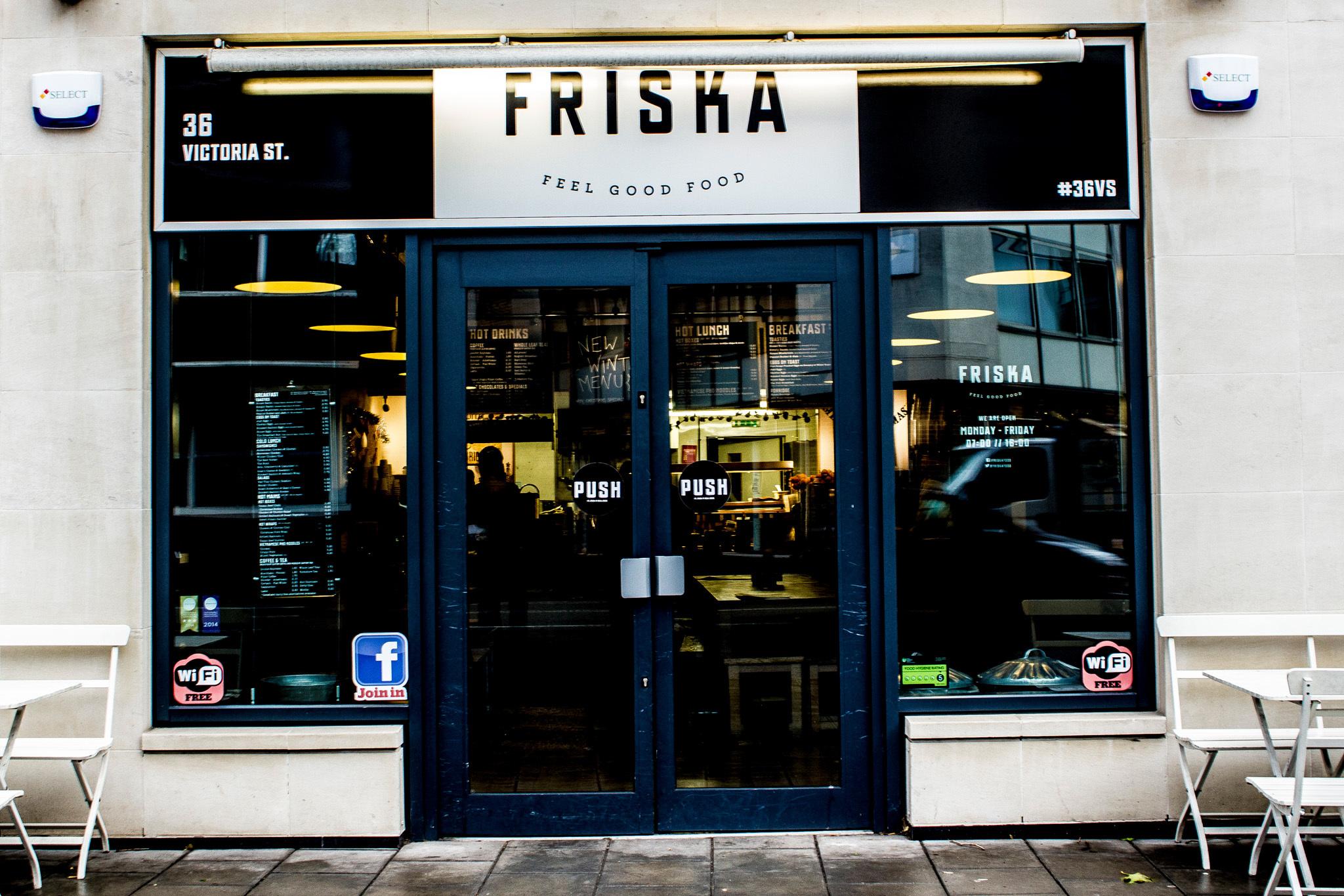 Friska, Triangle, Bristol