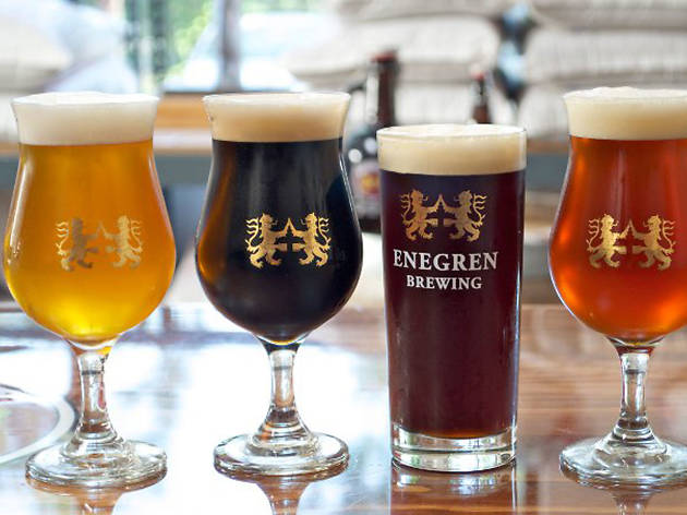 Enegren Brewing Co. grand opening