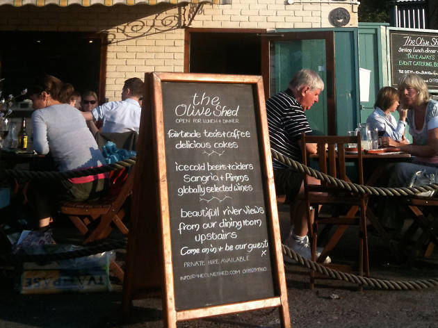 The Olive Shed, Bristol, Harbourside