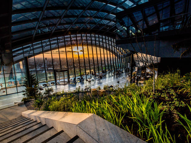 Best buildings in London: Walkie Talkie Sky Garden