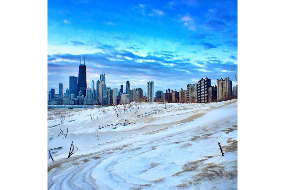 Chicago looks beautiful when frozen solid