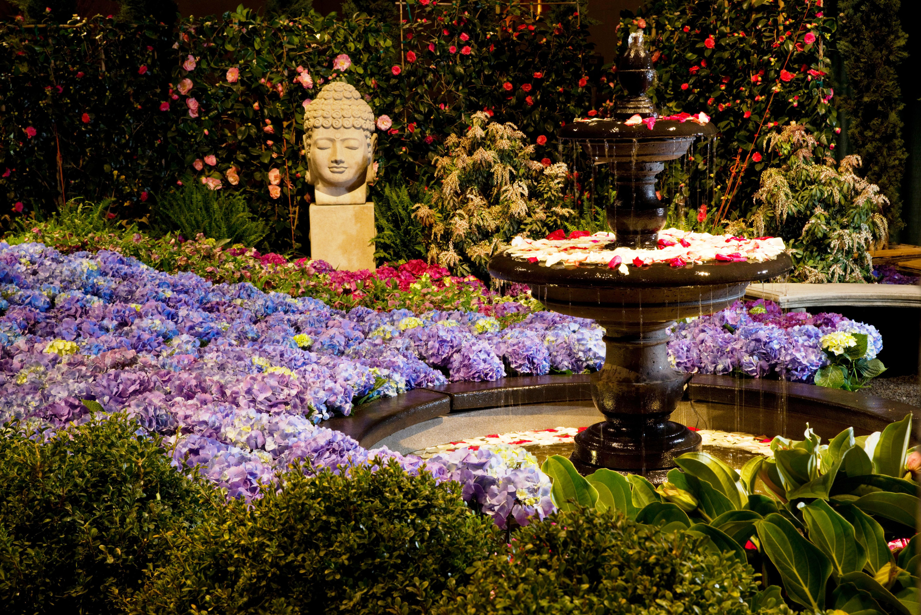 Chicago flower garden show for Flowers and gardens pictures