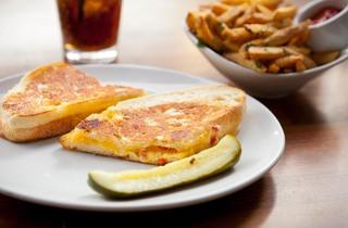 Grilled cheese at City Tavern