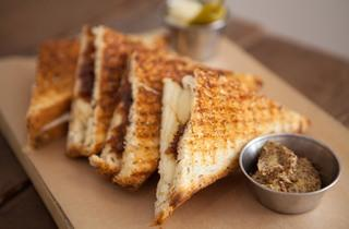 Grilled cheese at FoodLab