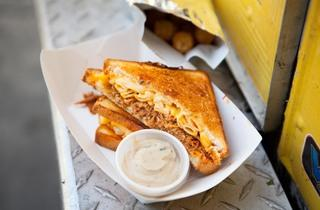 Fully Loaded Cheesy Mac at Grilled Cheese Truck