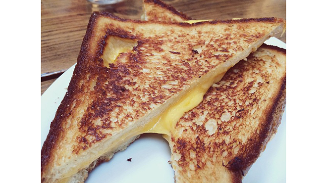 Grilled Cheese at Joan's on Third