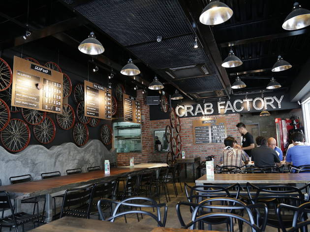 Mother's Day seafood promotion at Crab Factory