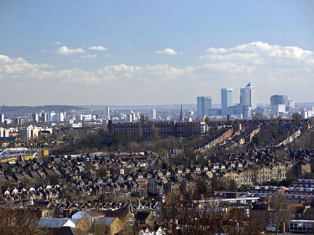 Crouch Hill to Alexandra Palace