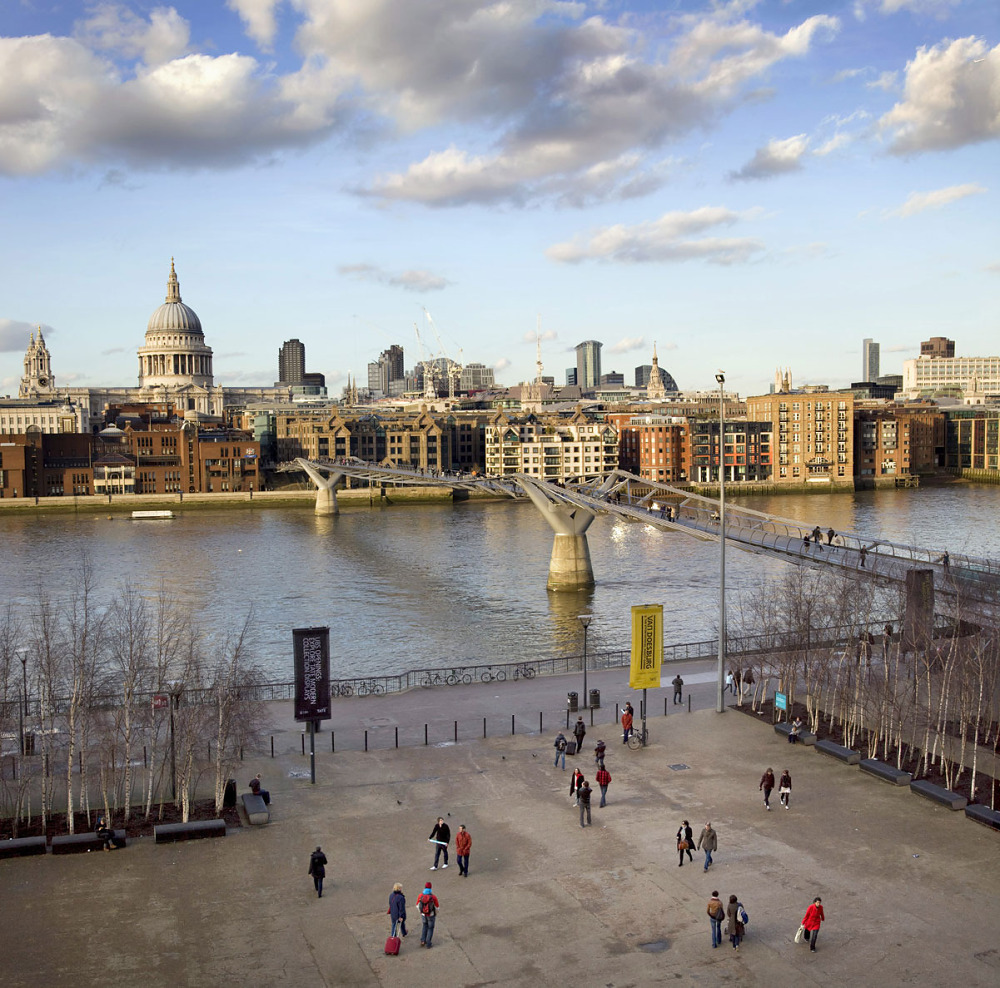 Tate Modern to the London Eye
