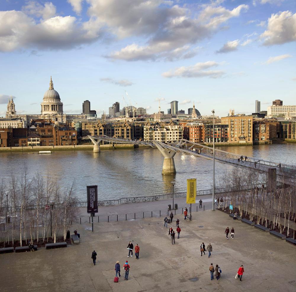 Tate Modern to the London Eye