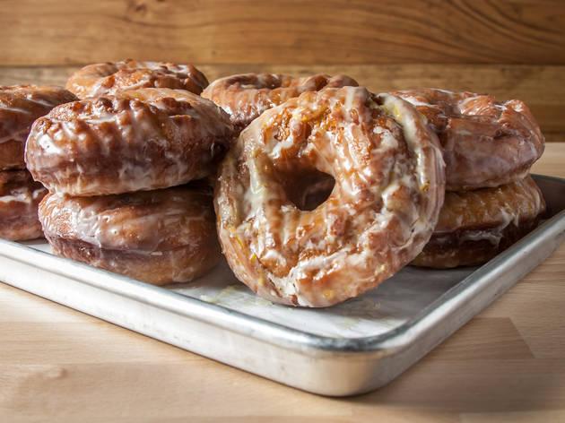 PIES N THIGHS sourdough glazed donut