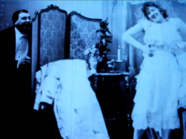 """""""Le Coucher de la Mariée"""" (Bedtime for the Bride) (1896)"""