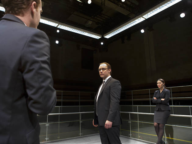 15 London theatre shows we loved the most in 2015: Bull, Young Vic