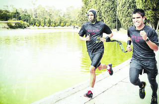A correr  (Foto: Alejandra Carbajal)