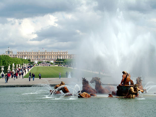 Les Grandes Eaux, jardin du château de Versailles, 2013