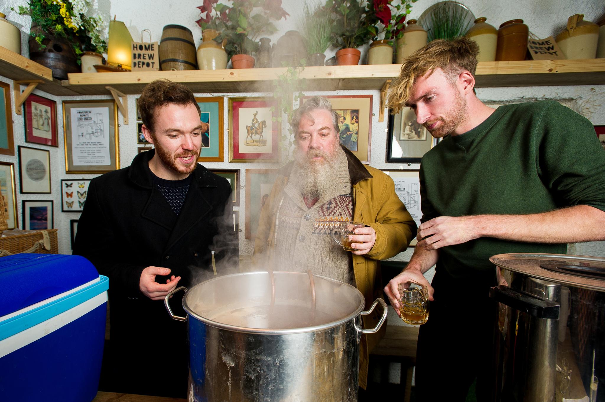Alex Plim tries a home brewing workshop