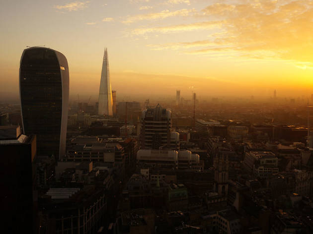 Sunset from Tower 42