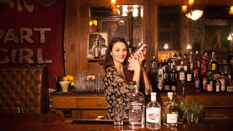 Bartender Liz Pearce runs The Drifter.