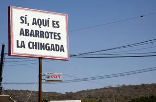 Abarrotes La Chingada (Foto: Alejandra Carbajal)
