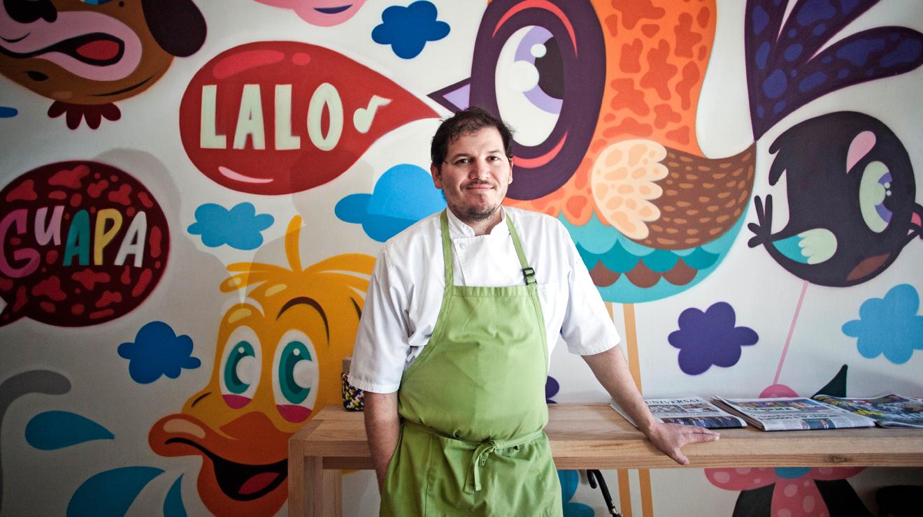 Clases de cocina con Eduardo García