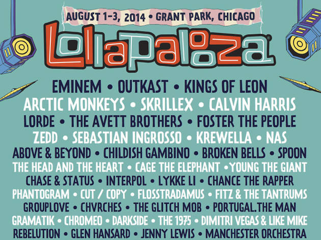 Ranking every Lollapalooza lineup year by year