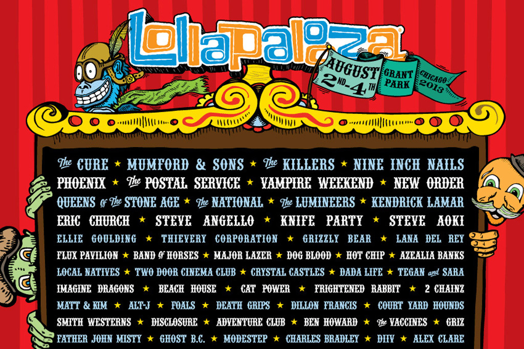 ranking every lollapalooza lineup year by year. Black Bedroom Furniture Sets. Home Design Ideas