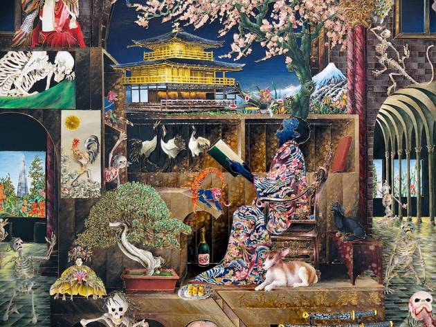 (Vue de l'exposition (Raqib Shaw) / Photo :  © TB / Time Out)
