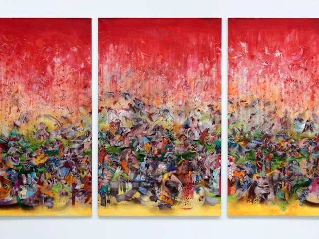 (Ali Banisadr, 'The Fravashi', 2013 / Courtesy de l'artiste & galerie Thaddaeus Ropac, Paris, Pantin )