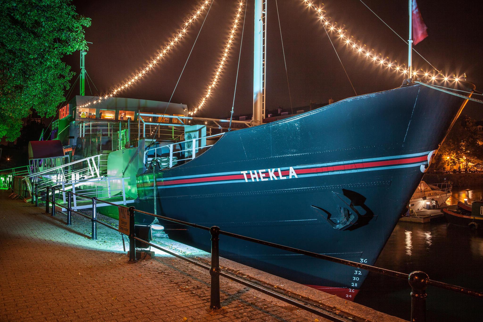 Thekla, Bristol, Club