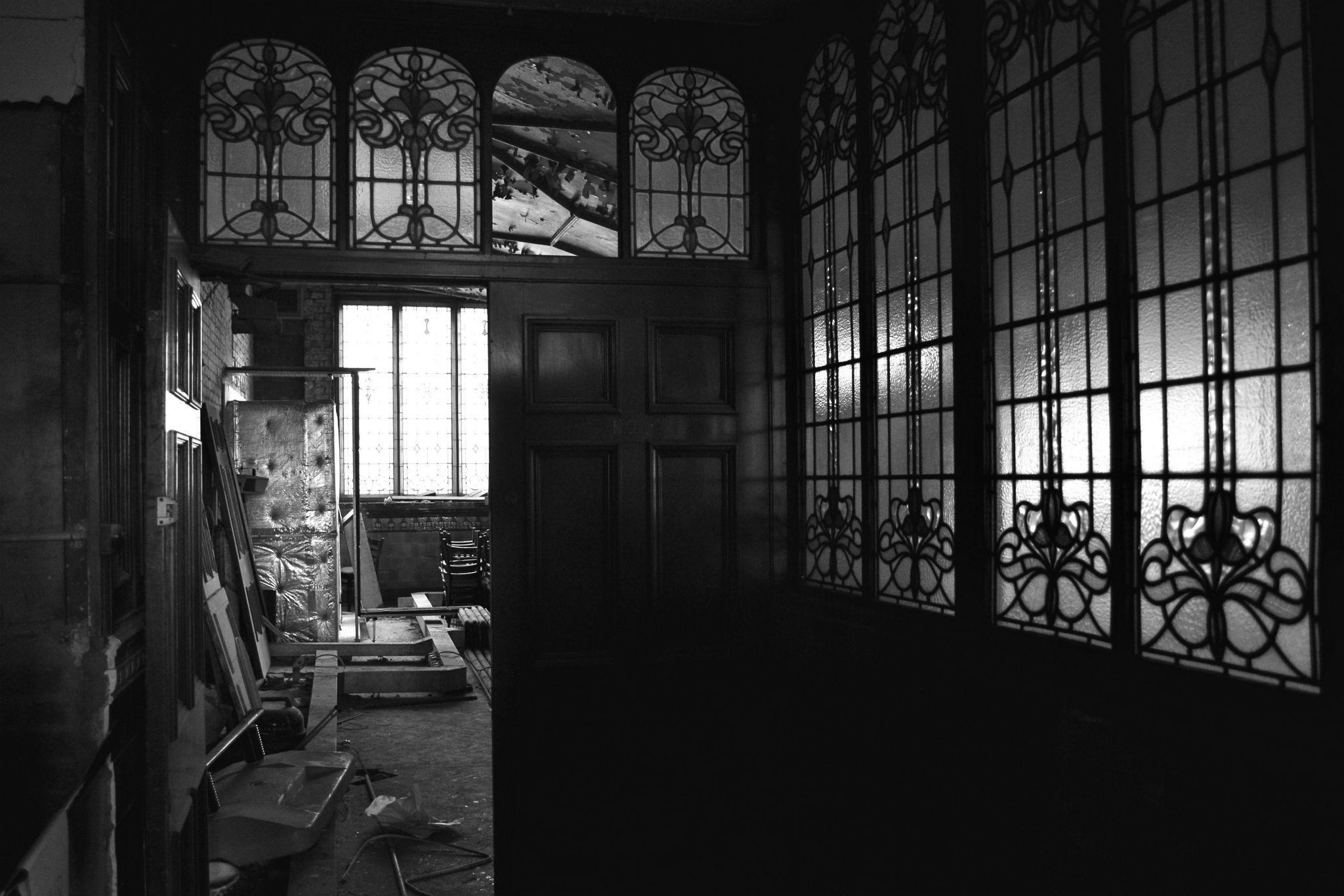 Albert Hall before opening