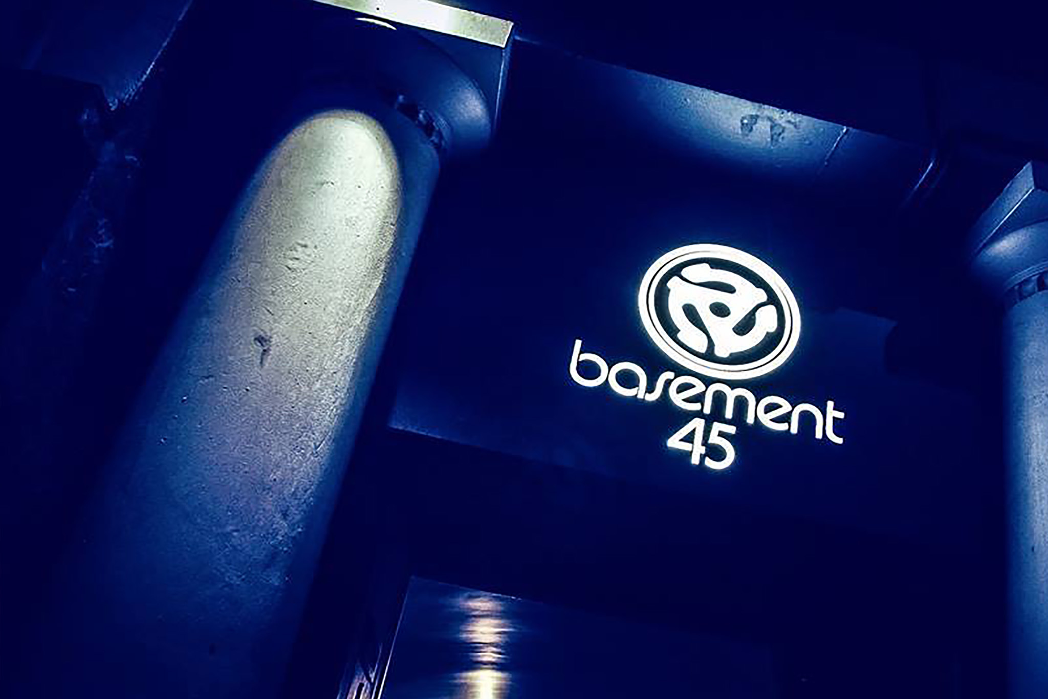Basement 45, Bristol, night club